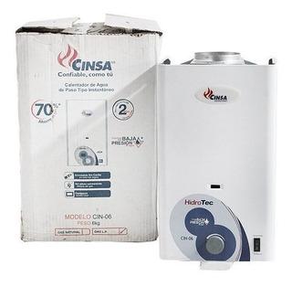 Calentador De Paso Cinsa Cdp-06 De 4 Litros