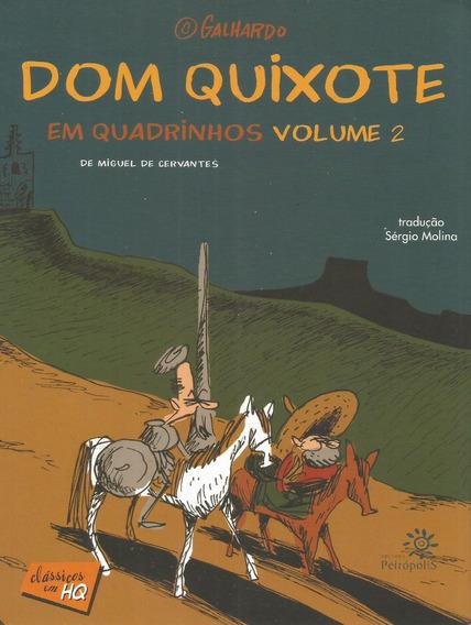 Classicos Em Hq Dom Quixote Vol 02 - Bonellihq Cx336 F18