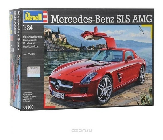 Mercedes Benz Amg Sls Coupe 1/24 Marca Revell