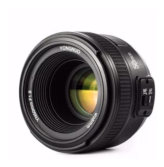 Lente Yongnuo Yn-50mm F/1.8n Para Nikon Yn50