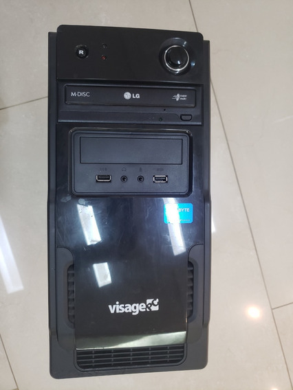 Computador Desktop Visage Pc - I3 + 500gb Hd + 4gb Ram Ddr3