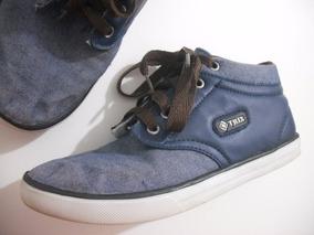 Tenis Jeans Trix Tam 34 Usado Bom Estado Cfe Fotos