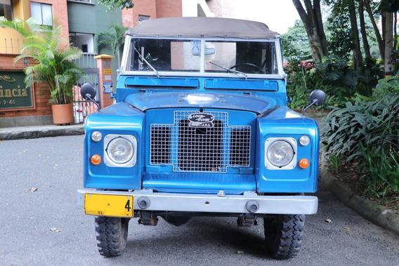 Land Rover Santana 88 Modelo 1972 - Azul - 4x4 - Carpado