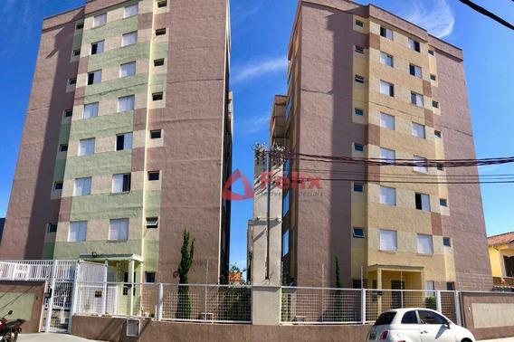 Apartamento Térreo Com 2 Dormitórios - Condomínio Vila Caetas - Vila São José - Taubaté/sp - Ap1516