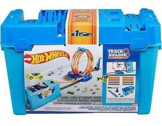 Hot Wheels Track Builder Kit De Looping Mattel - Flk89