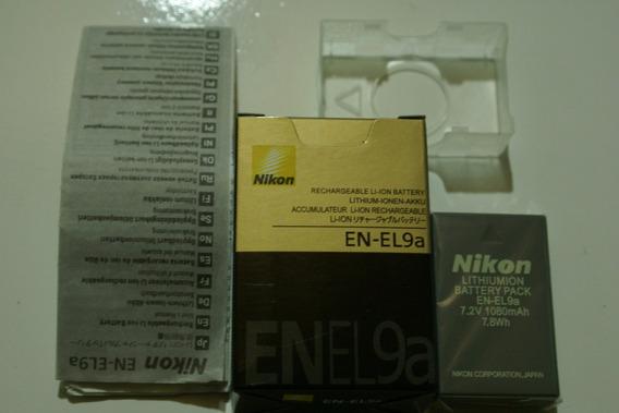 Bateria En-el9a En-el9 P/ Nikon D5000 D3000 D40 D60