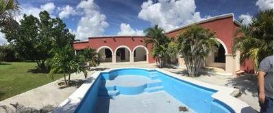 Quinta En Venta A Unos Minutos De Mérida, Yucatán