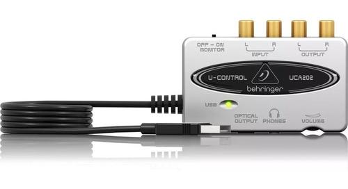 Interfaz Audio Digital Behringer U-control Uca202 + Garantía