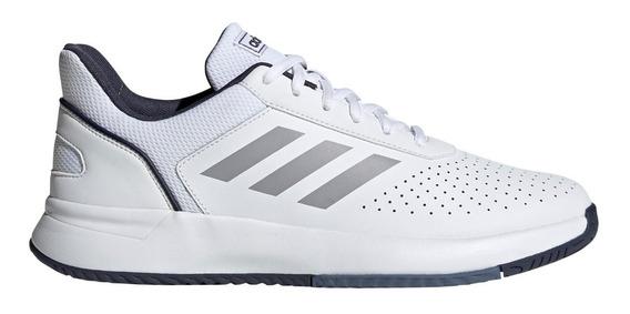 Zapatillas adidas Courtsmash De Tenis Bla/azu De Hombre