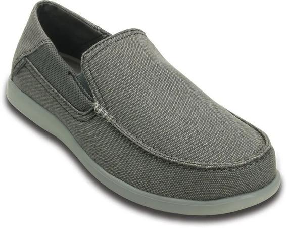 Crocs Originales Santa Cruz 2 Luxe Gris Hombre 202056