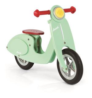 Bicicleta De Madera Janod Verde