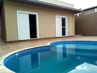 Casa Nova Com Piscina À Venda, 172 M² Por R$ 595 Mil, Bairro Nobre Jardim Paulista Em Atibaia Sp - Ca1843