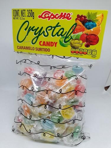 Imagen 1 de 1 de Laposse Cristal Candy 350gr Caramelo Sin Pasita