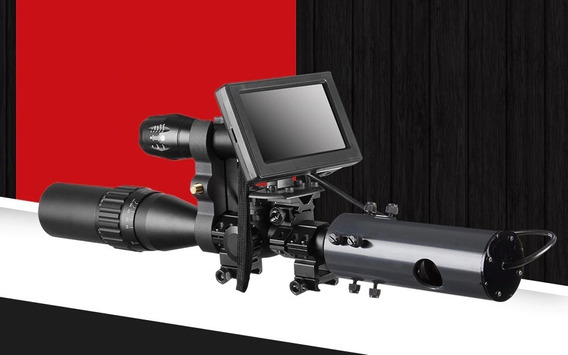 Kit Visão Noturna Digital Para Lunetas Caça Airsoft Militar Carabinas De Pressão