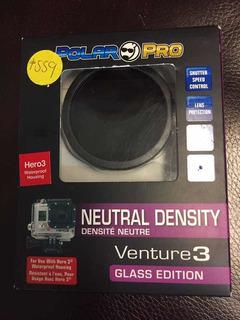 Filtro Polar Pro Para Gopro Hero3 Densidad Neutra Original