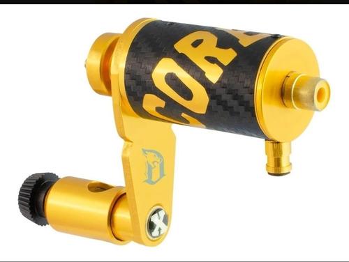 Imagem 1 de 1 de Maquina Tattoo Tatuagem Rotativa Hibrida X13 X Core Gold