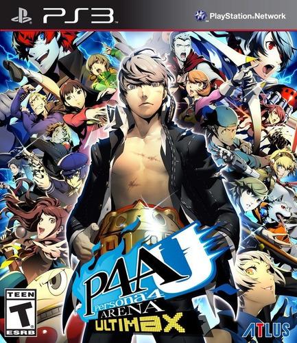 Persona 4 Juego Ps3 Original Playstation 3