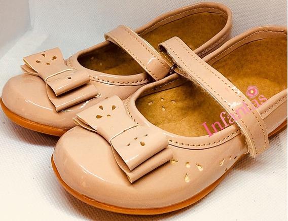 Zapatos Niñas Grecas Capuchino