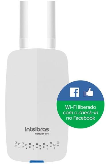 Roteador Wireless Intelbras Hotspot 300 Check-in Facebook