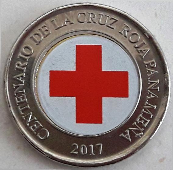 Panamá Moneda Bimetálica Esmaltada - Año 2017 - 1 Balboa Unc