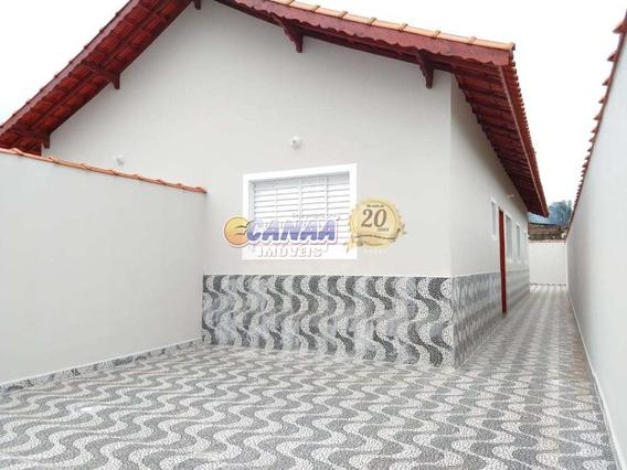 Casa A Venda Em Mongaguá Aceita Financiamento Ref.: 7800 E