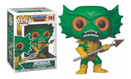 Motu He-man - Merman #564 - Funko Pop! - Robot Negro