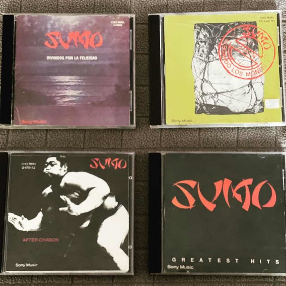 Sumo - Lote De 4 Cds Imperdibles Descatalogados