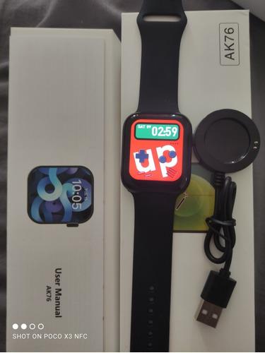 Smartwatch Ak76 Serie 6, Juegos Incluidos Con Garantía