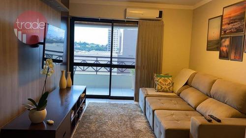 Apartamento Com 3 Dormitórios À Venda, 138 M² Por R$ 480.000,00 - Santa Cruz Do José Jacques - Ribeirão Preto/sp - Ap6488
