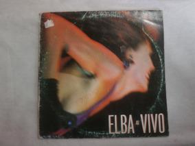 Lp Elba Ramalho Ao Vivo, Disco De Vinil Capa Dupla, Ano 1989