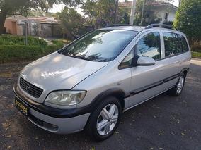 Chevrolet Zafira Cd 2.0 8v Prata 2003 Completa Gasolina