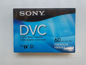 Fita Dvc Minidv Sony Premium 24un Original Lacradas