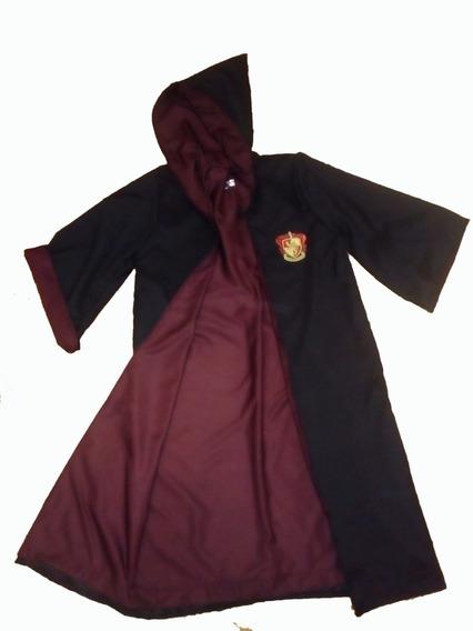 Disfraz Cosplay Harry Potter Tunica + Escudo Talle Niños