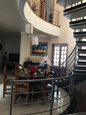 Sobrado Com 3 Dormitórios À Venda, 286 M² - Jardim - Santo André/sp - So9696