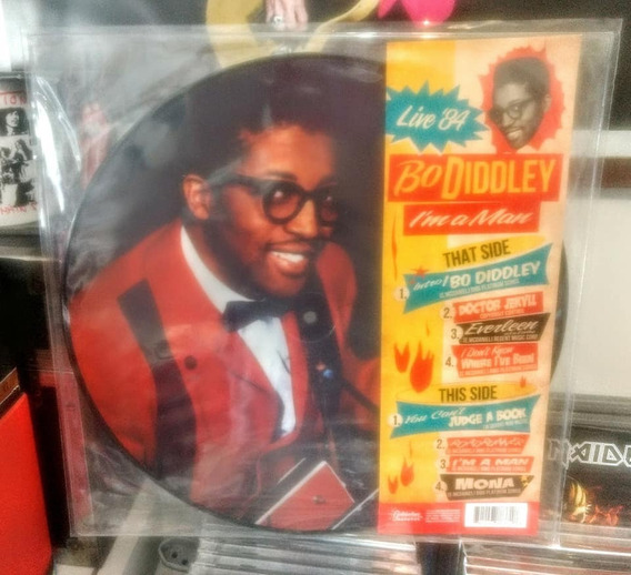 Lp Bo Diddley Im A Man Live 84 (picture Disc)