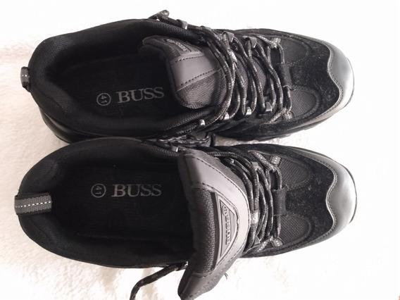 Zapatillas Deportivas Buss Negras! Número 41