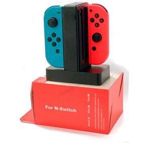 Carregador Controle Nintendo Switch Torre Base Usb 4x1 Feir
