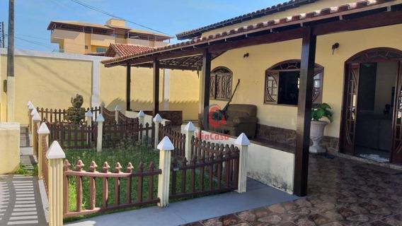 Casa Linear Em Terreno Inteiro, 3 Quartos, Praia Mar / Rio Das Ostras - Rj - Ca1964