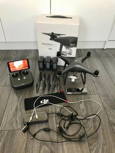 Original Dji Phantom 4 Pro 4k Camera Drone Ready To Fly