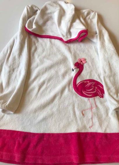 Vestido Salida De Baño, Para Niña, Talla 7-8, Usado