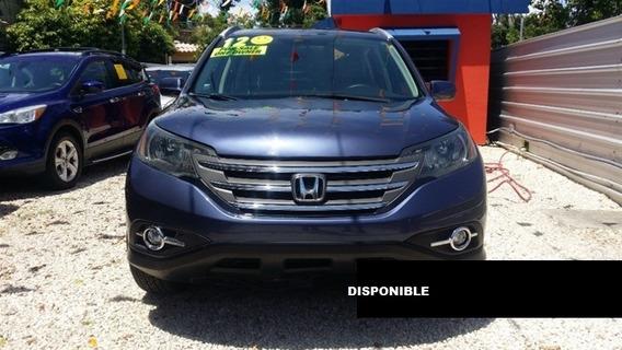 Honda Cr-v 12 Azul Claro