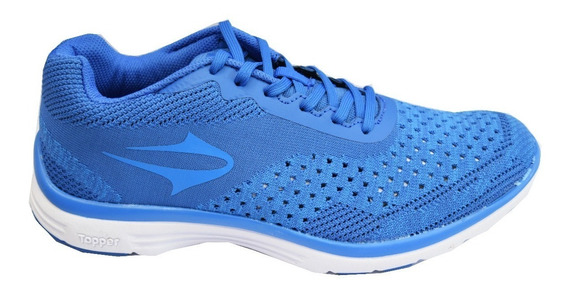 Zapatillas Topper Running Wool Hombre Azul