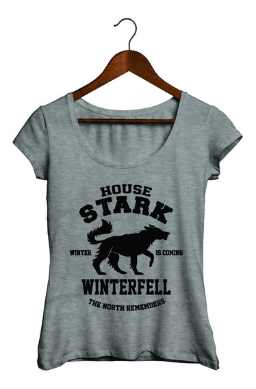 Remera Mujer - Game Of Thrones #06 Got House Stark
