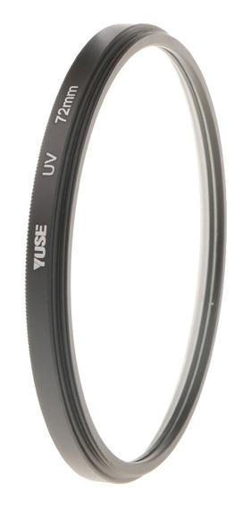 72mm Uv Ultravioleta Proteção Filtro Lente Protetor Para Nik