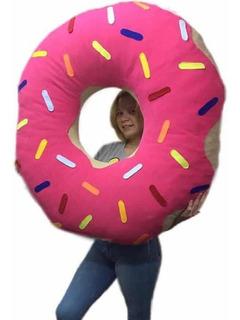 Almohadón De Dona Puff Donut Almohada Grande