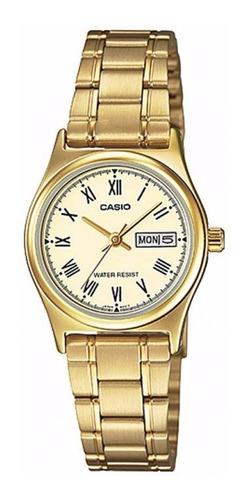 Reloj Casio Dama Ltp V006g  Dorado 100% Original
