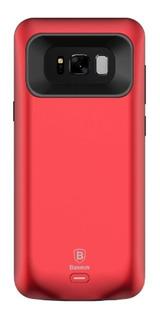 Case Capa Carregadora Samsung S8 Plus Baseus Vermelha !
