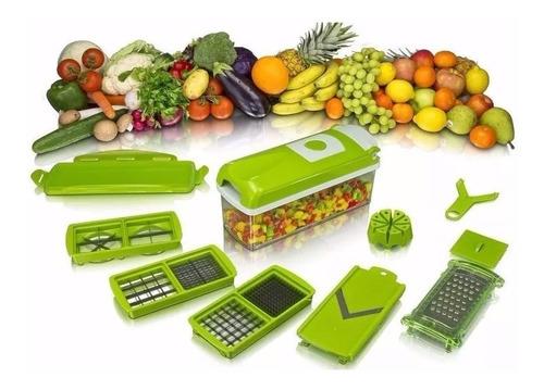 Picador Rallador De Frutas Verduras Genius Nicer Dicer Plus