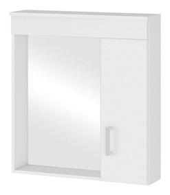 Espelheira Para Banheiro Mgm M?veis Turim 63x60x15 Cm