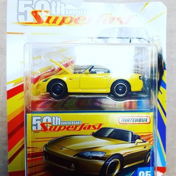 Miniatura Honda S 2000 Superfast Matchbox 1:64 Lacrada !!!